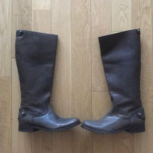 Frye Melissa Button Back Zip Boots 5.5